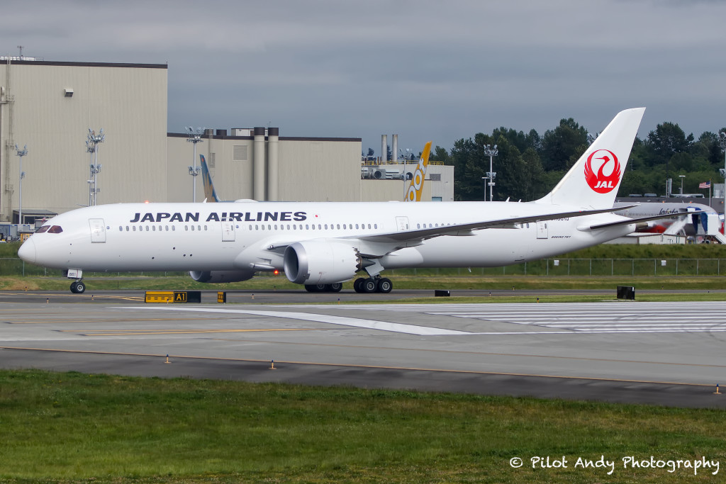 Japan Airline's first 787-9