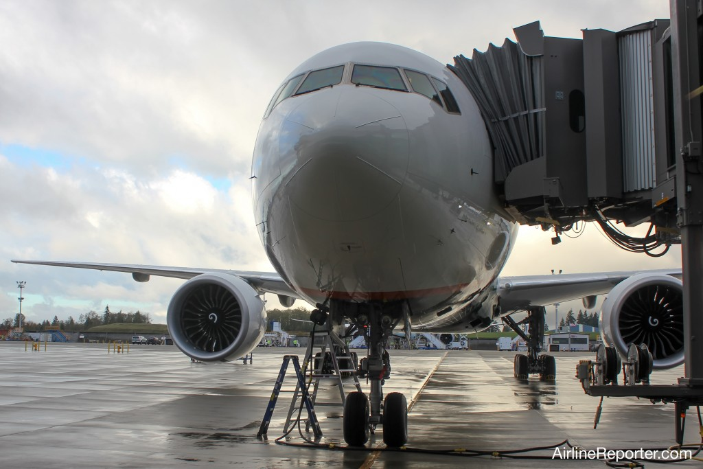 Head on © AirlineReporter.com